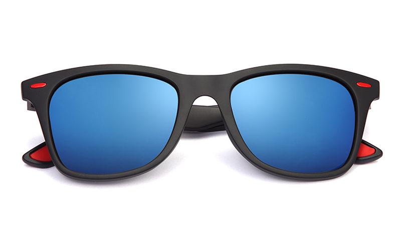 BLUES MATT BLACK/BLUE REVO